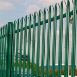 permanent security fencing image